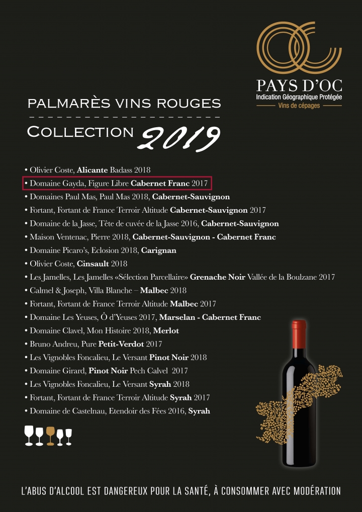 Pays d'Oc Collection 2019 Rouge