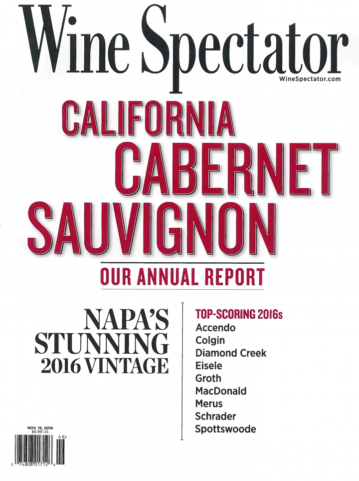 Wine Spectator Nov. 2019