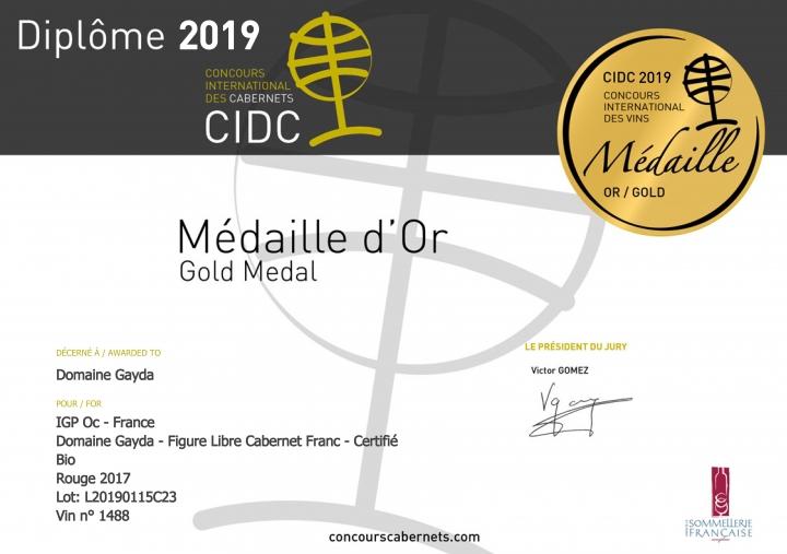 Concours International Des Cabernet 2019