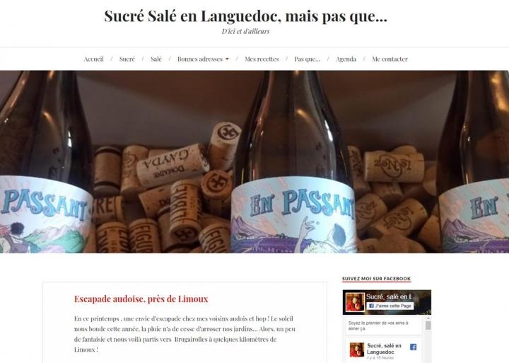 Sucré Salé en Languedoc