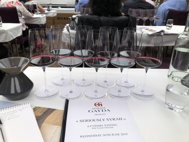 The Drinks Business - Domaine Gayda 9 Vessel Tasting